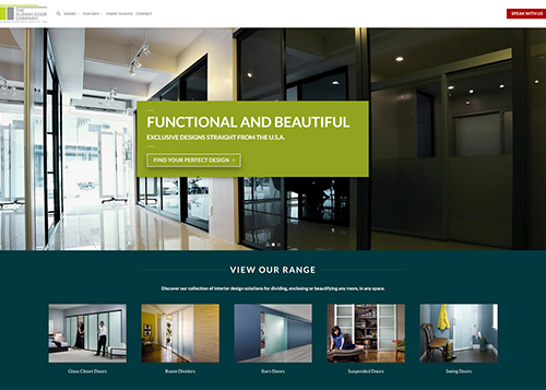 Sliding Door Company New Website